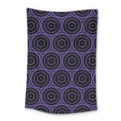 Background Colour Purple Circle Small Tapestry