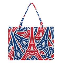 Eiffel Tower Paris Perancis Medium Tote Bag