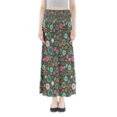 Floral Flower Flowering Rose Maxi Skirts