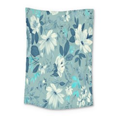 Floral Pattern Wallpaper Small Tapestry