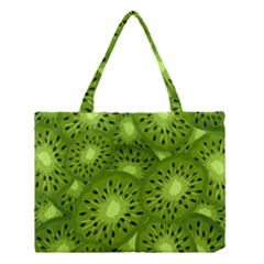 Fruit Kiwi Green Medium Tote Bag
