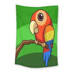 Parrots Pinterest Small Tapestry