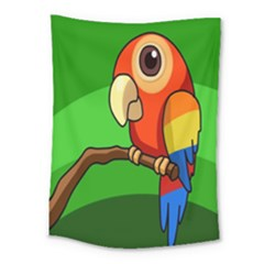 Parrots Pinterest Medium Tapestry