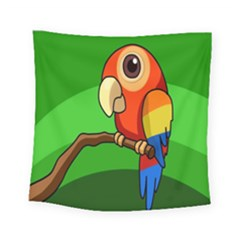 Parrots Pinterest Square Tapestry (small)