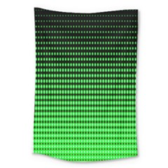 Neon Green Large Tapestry