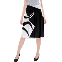 Mountaineering-Climbing Pictogram  Midi Beach Skirt