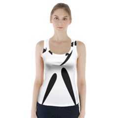 American Football Pictogram  Racer Back Sports Top