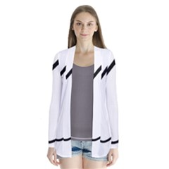 Angling Pictogram Cardigans