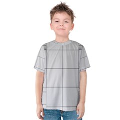Abstract Architecture Contemporary Kids  Cotton Tee