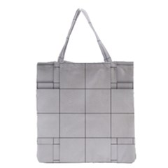 Abstract Architecture Contemporary Grocery Tote Bag