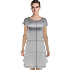 Abstract Architecture Contemporary Cap Sleeve Nightdress