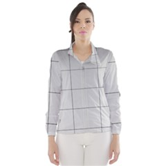 Abstract Architecture Contemporary Wind Breaker (women)