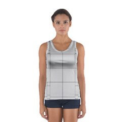 Abstract Architecture Contemporary Women s Sport Tank Top