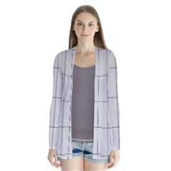 Abstract Architecture Contemporary Cardigans