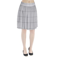 Abstract Architecture Contemporary Pleated Skirt