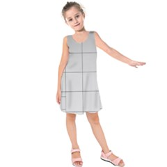Abstract Architecture Contemporary Kids  Sleeveless Dress