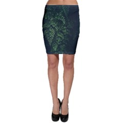 Abstract Art Background Biology Bodycon Skirt