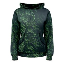 Abstract Art Background Biology Women s Pullover Hoodie