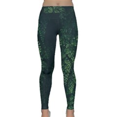 Abstract Art Background Biology Classic Yoga Leggings