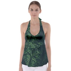Abstract Art Background Biology Babydoll Tankini Top