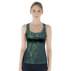 Abstract Art Background Biology Racer Back Sports Top