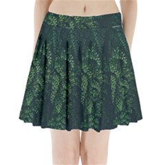 Abstract Art Background Biology Pleated Mini Skirt