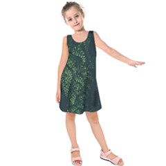 Abstract Art Background Biology Kids  Sleeveless Dress