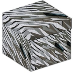 Abstract Background Geometry Block Storage Stool 12