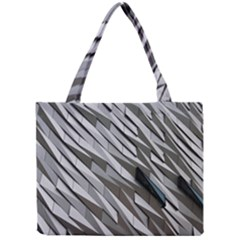 Abstract Background Geometry Block Mini Tote Bag