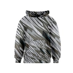 Abstract Background Geometry Block Kids  Pullover Hoodie