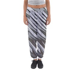 Abstract Background Geometry Block Women s Jogger Sweatpants