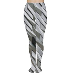 Abstract Background Geometry Block Women s Tights