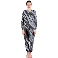Abstract Background Geometry Block Onepiece Jumpsuit (ladies)