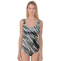 Abstract Background Geometry Block Princess Tank Leotard