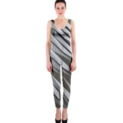 Abstract Background Geometry Block Onepiece Catsuit