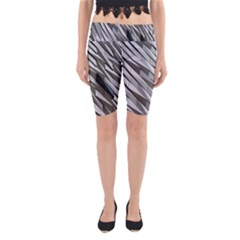 Abstract Background Geometry Block Yoga Cropped Leggings
