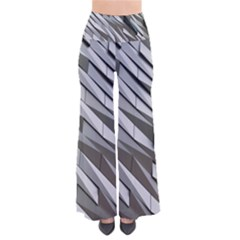 Abstract Background Geometry Block Pants