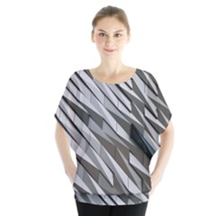 Abstract Background Geometry Block Blouse