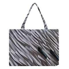 Abstract Background Geometry Block Medium Tote Bag