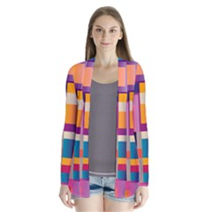 Abstract Background Geometry Blocks Cardigans