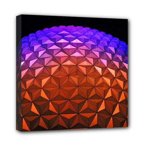 Abstract Ball Colorful Colors Mini Canvas 8  X 8