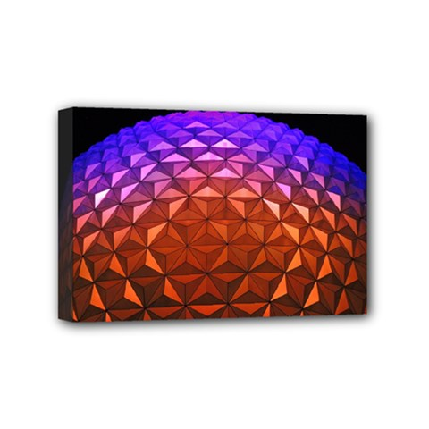 Abstract Ball Colorful Colors Mini Canvas 6  X 4