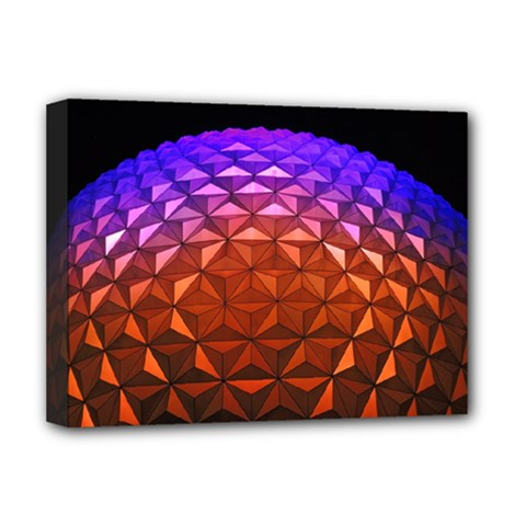 Abstract Ball Colorful Colors Deluxe Canvas 16  X 12