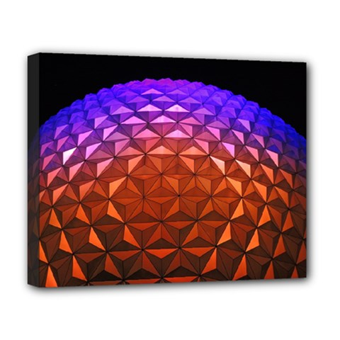 Abstract Ball Colorful Colors Deluxe Canvas 20  X 16