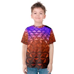 Abstract Ball Colorful Colors Kids  Cotton Tee