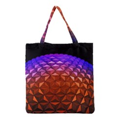 Abstract Ball Colorful Colors Grocery Tote Bag