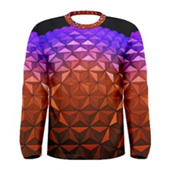 Abstract Ball Colorful Colors Men s Long Sleeve Tee