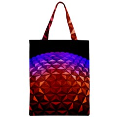 Abstract Ball Colorful Colors Zipper Classic Tote Bag
