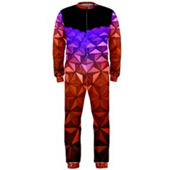 Abstract Ball Colorful Colors Onepiece Jumpsuit (men)