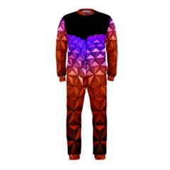 Abstract Ball Colorful Colors Onepiece Jumpsuit (kids)